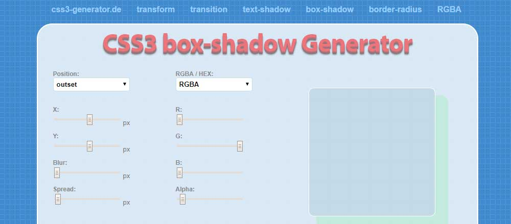 Box Shadow