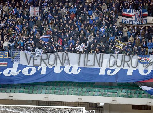 Tifosi Sampdoria @Getty Images