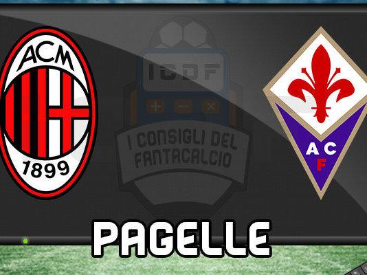 Milan Fiorentina Pagelle @ ICDF