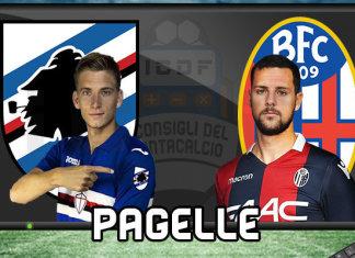 Sampdoria Bologna Pagelle @ ICDF