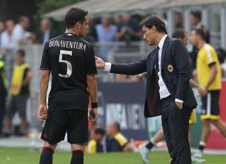 Montella Bonaventura Milan @Getty Images