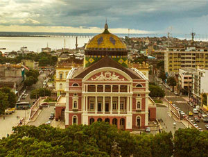 Custom Amazon Vacation Package - Manaus and Uakari Jungle Lodge (5 Nights)