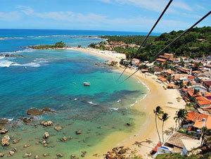 Brazil Vacation Package – Salvador, Praia do Forte and Morro de Sao Paulo (8 Nights)