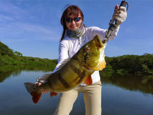 Amazon Peacock Bass Fishing Vacation Package and Tour (6 Nights)
