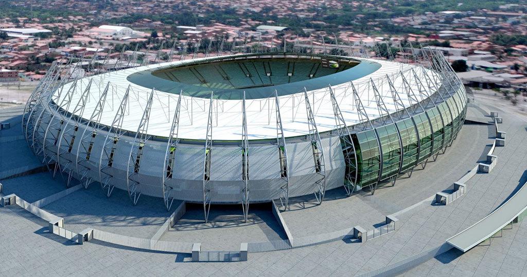 Castelao Stadium - Fortaleza - Ceara - Brazil