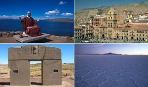 Bolivia Travel Package - Highlights 3 - La Paz, Santa Cruz, Sucre, Potosi, Uyuni Salt Lake, San Cristobal and Titicaca Lake (11N)