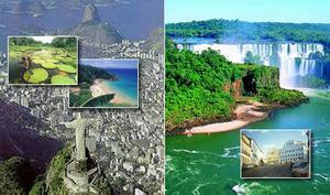 Brazil Travel Package - Highlights 1 - Rio, Iguassu Falls, Bahia and Amazon (14N)