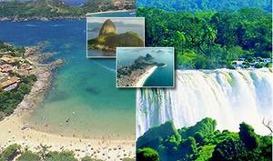 Brazil Travel Package - Highlights 3 - Rio de Janeiro, Iguassu Falls and Amazon (11N)