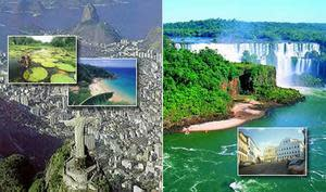 Brazil and Argentina Vacation Package - Rio de Janeiro, Iguassu Falls, Buenos Aires and Bariloche (12 nights)