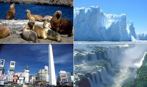 Argentina Vacation Package - Highlights 2 - Buenos Aires, Iguazu Falls and Patagonia (8N)