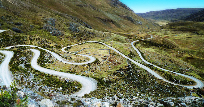 Andean Road - Ecuador