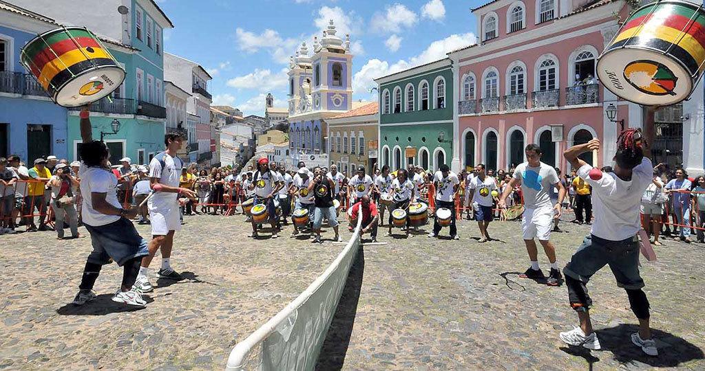 Olodum - Pelourinho - Salvador Bahia - Brazil