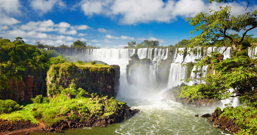 Image result for Iguazu Falls history