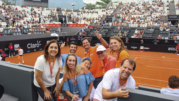 Rio ATP Tennis Open 2018 Vacation Package