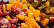 Eat dried or candied fruits