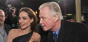 Angelina Jolie und Jon Voight