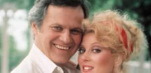 Dallas Audrey Landers und Ken Kercheval