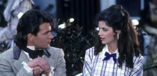 Kirstie Alley und Patrick Swayze