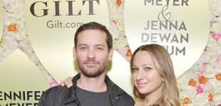 Tobey Maguire und Jennifer Meyer