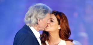 Andrea Berg mit Mann Uli