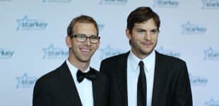 Ashton Kutcher und Michael Kutcher