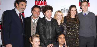 "Chuck Lorre und der ""The Big Bang Theory""-Cast"