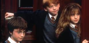 Daniel Radcliffe, Rupert Grint und Emma Watson