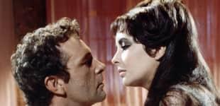 Elizabeth Taylor und Richard Burton