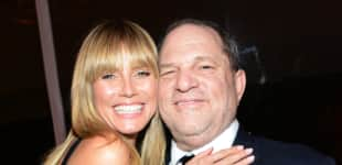 Heidi Klum und Harvey Weinstein