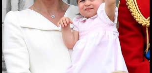Herzogin Kate, Prinzessin Charlotte und Prinz George