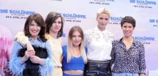 Iris Berben, Nora Tschirner, Bibi Heinicke, Lena Gercke, Jasmin Gerat