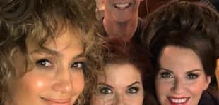 """Jennifer Lopez am """"Will & Grace""""-Set"""