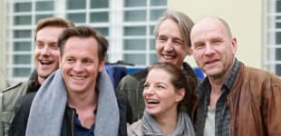 Johannes Zirner & Yvonne Catterfeld (vorne), Jan Dose, Andreas Schmidt & Götz Schubert (hinten)