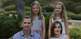 König Felipe, Königin Letizia, Prinzessin Leonor und Prinzessin Sofia
