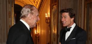 Prinz Philip und Tom Cruise