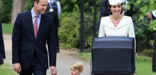 Prinz William, Prinz George, Kate Middleton und Prinzessin Charlotte