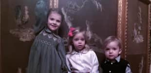 Prinzessin Estelle, Prinzessin Leonore und Prinz Nicolas