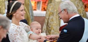 Prinzessin Sofia, König Carl Gustaf und Prinz Alexander