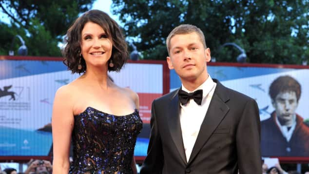 Alessandra Martines und Cyril Descours