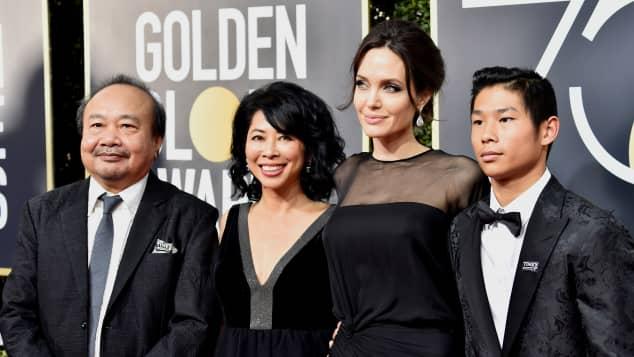 Angelina Jolie und Sohn Pax