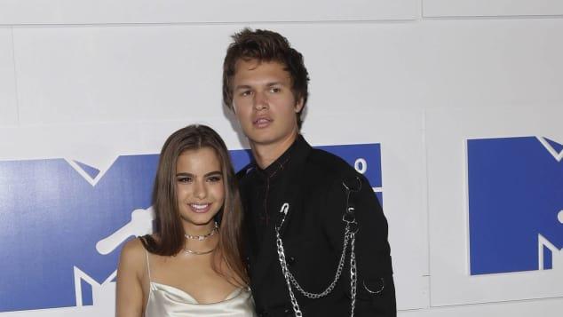 Ansel Elgort mit Freundin Violetta