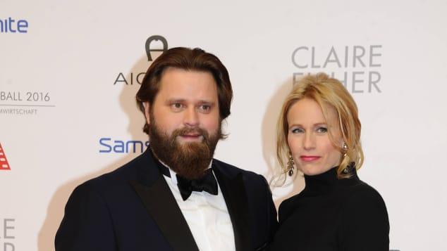 Antoine Monot Jr. und Stefanie Sick