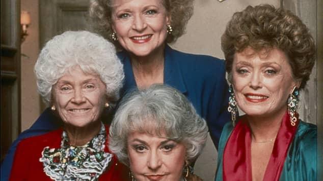 Betty White, Estelle Getty, Beatrice Arthur und Rue McClanahan