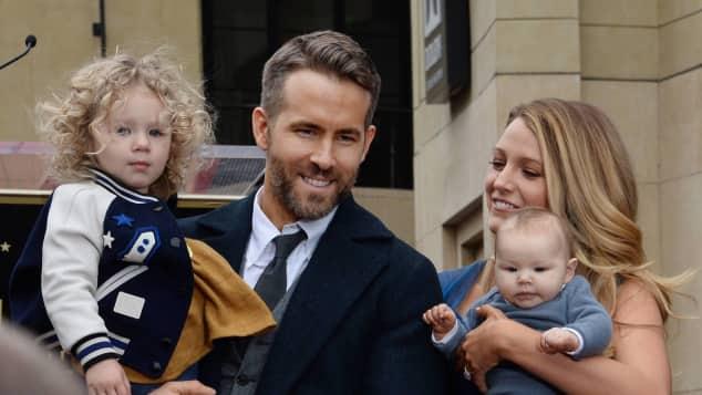 Blake Lively, Ryan Reynolds und Töchter