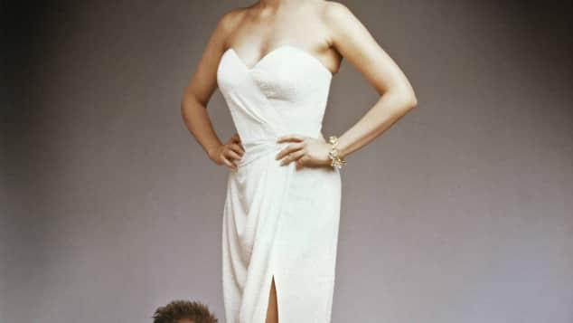 Bruce Willis und Cybil Sheperd