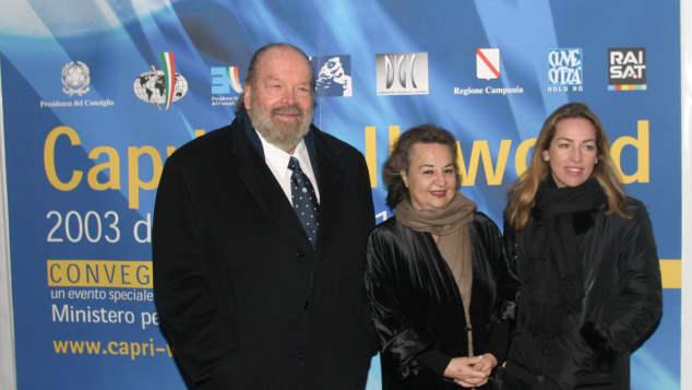 Bud Spencer, Maria Amato und Diamante Pedersoli