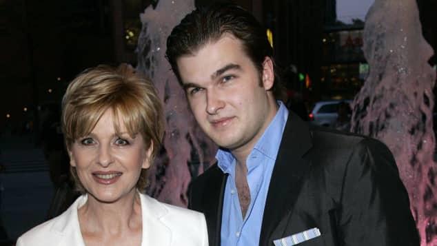 Carmen Nebel und Sohn Gregor