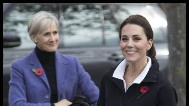 Catherine Quinn und Herzogin Kate