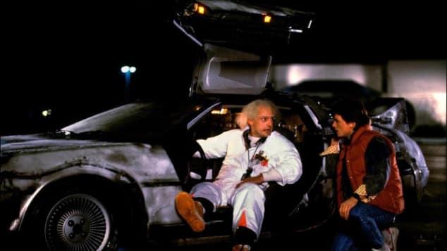 Christopher Lloyd und Michael J. Fox