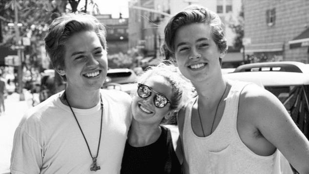 Cole und Dylan Sprouse und Ashley Tisdale